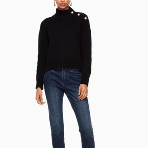 Kate Spade Pearl Turtle Neck Sweater